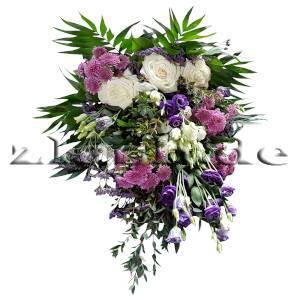 Blumenstrauss weiss-lila-rosa