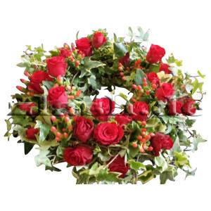Kranz rote Rosen